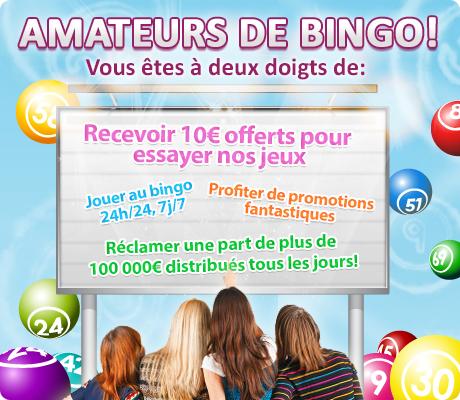Avantages inscription sur un site de jeu de bingo