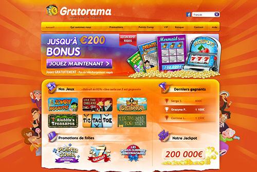 image du site de bingo Gratorama