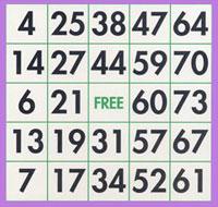 bingo 75 boules